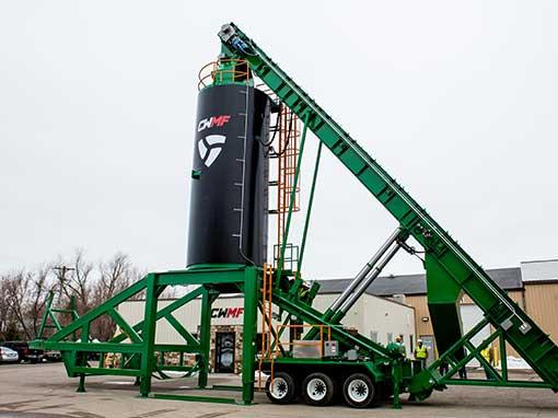 self-erect silos