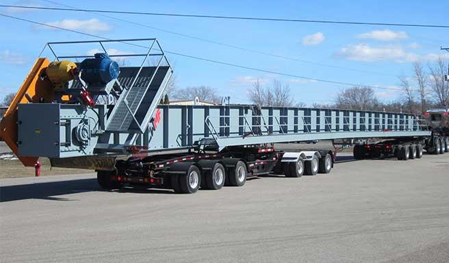 CWMF - transfer slat conveyors