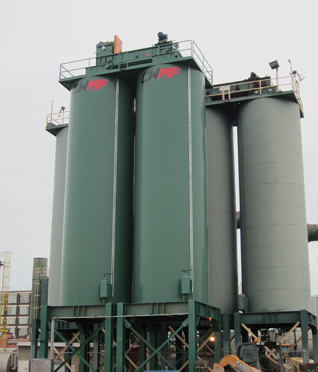 asphalt silo