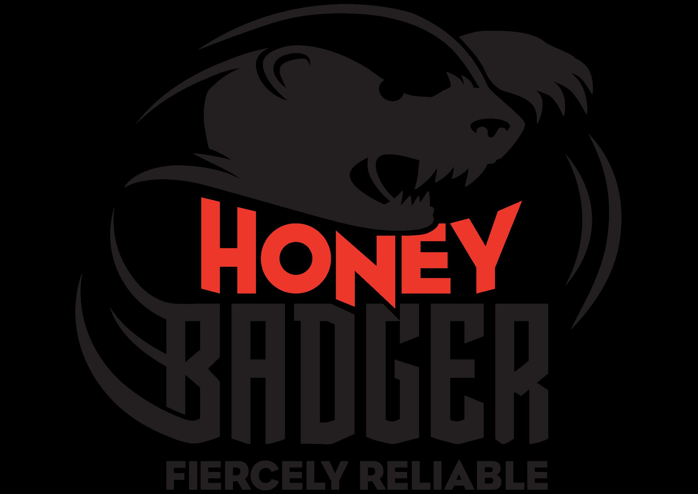 Honey Badger RAP Crusher Logo
